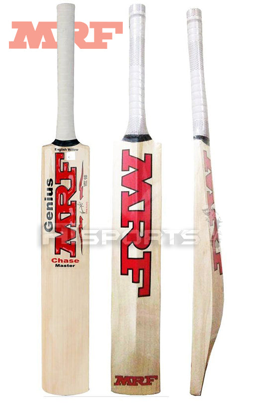 8b3e9ab3f48 MRF Genius Chase Master Players Grade English Willow Cricket Bat ...