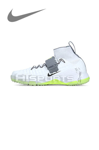 NIKE ALPHA ACCELERATE 3 WHITE CRICKET SPIKE SHOES