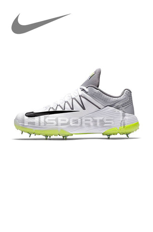 NIKE DOMAIN 2 WHITE/WOLF GREY CRICKET SPIKE SHOES