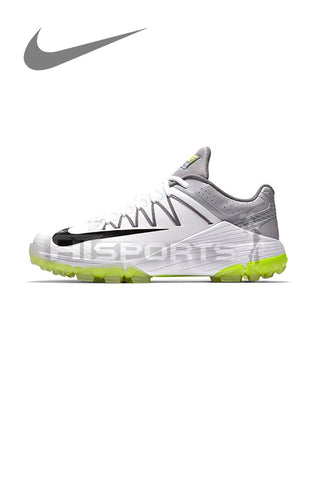 NIKE DOMAIN 2 NS WHITE/WOLF GREY CRICKET SHOES