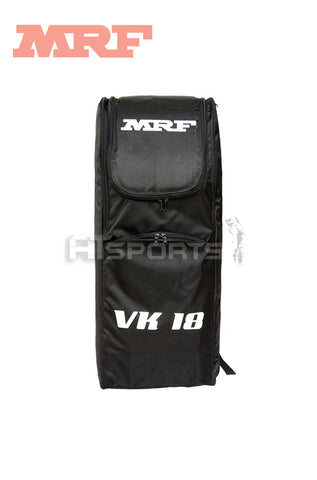 MRF Genius VK18 BLACK Duffle Cricket Kit Bag