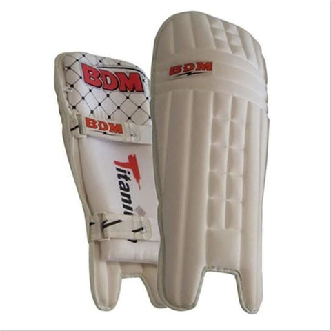 BDM Titanium Molded Batting Pads