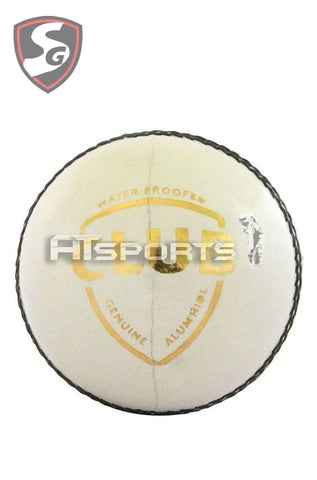 SG Club White Cricket Ball