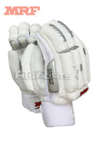 MRF Grand Edition All White Batting Gloves