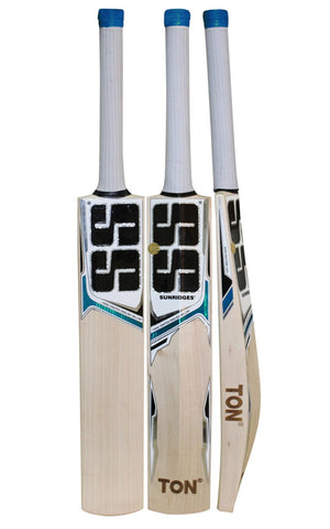 SS White Edition Blue English Willow Cricket Bat