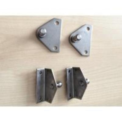 Brackets For Gas Strut on  Engine hatch and fuel tank hatches  (One Pair Only).
