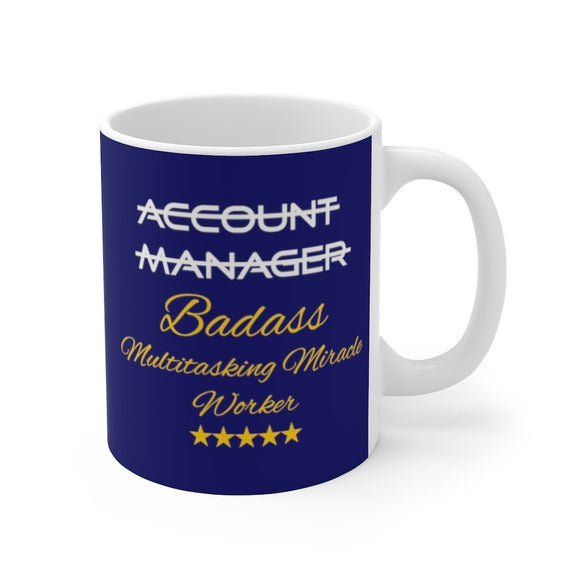 Account Manager Mug 11oz (0.33 l)-Freire Trade