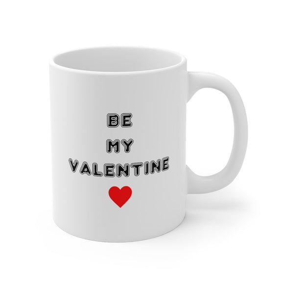 Be My Valentine Mug 11oz (0.33 l)-Freire Trade