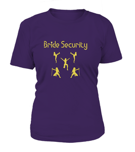 Bride Security Women's T-shirt-Freire Trade