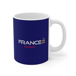 France 1998-2018 Mug 11oz (0.33 l)-Freire Trade