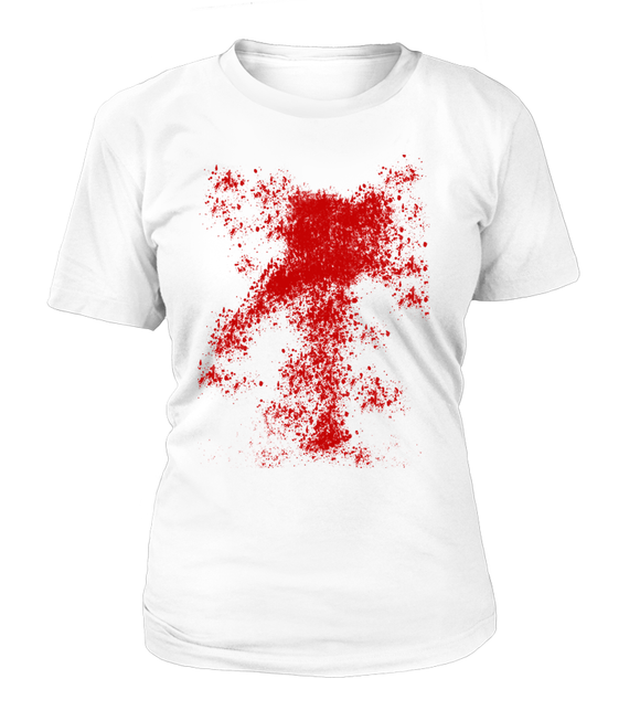 Halloween Blood Splash Women's T-shirt-Freire Trade