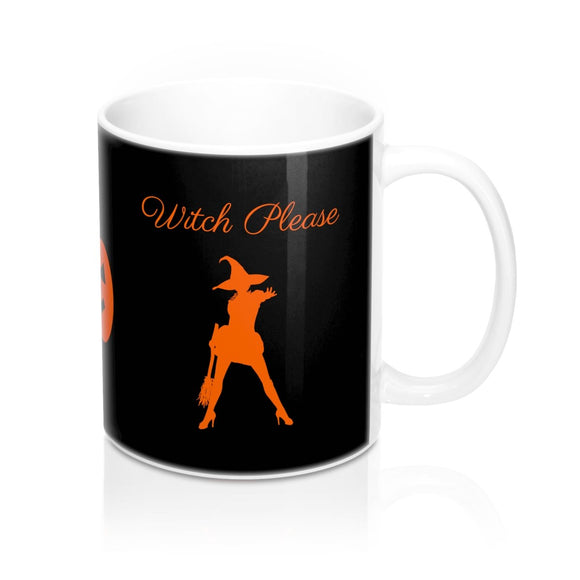 Halloween Witch Please Mug 11oz (0.33 l)-Freire Trade