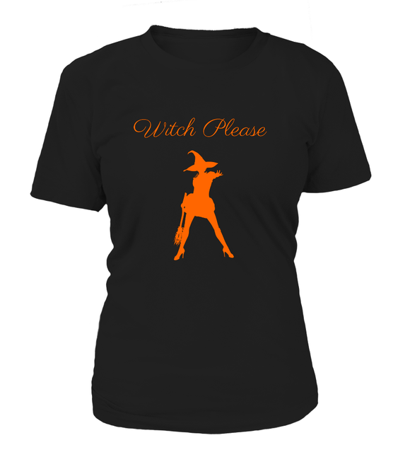 Halloween Witch Please Women's T-shirt-Freire Trade