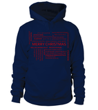 International Merry Christmas Hoodie-Freire Trade