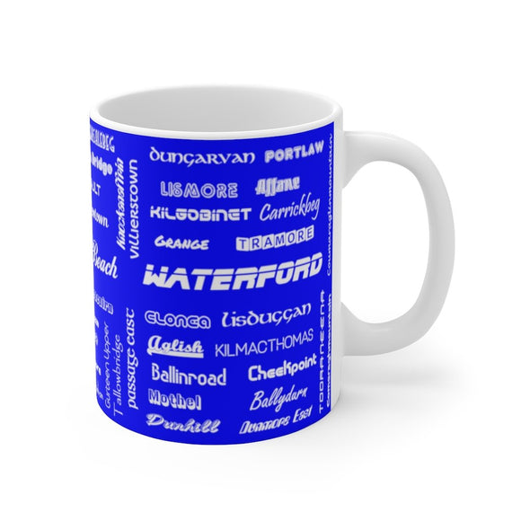 Waterford / Port Láirge Mug 11oz (0.33 l)-Freire Trade