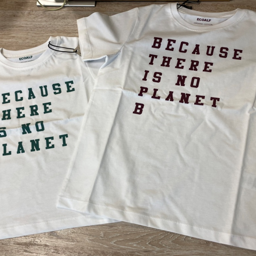 Because There Is No Planet B... Create Awareness With An Ecoalf Tee, Greta Thunberg, School Strikes to Extinction Rebellion, Ecoalf T-Shirts, 100% Recycled Material, Ecoalf Foundation, Upcycling the Oceans, Sustainability, B Corp Certified