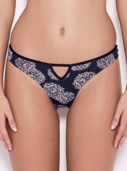 Amaella Knickers Blue and Lilac Organic Cotton Knickers Romance sustainable fashion ethical fashion