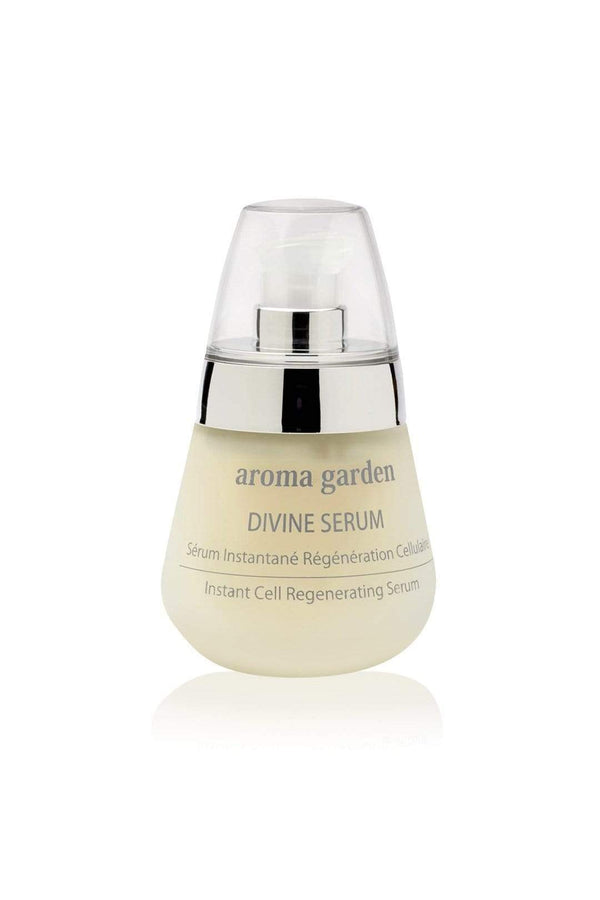 aroma garden cream Divine Serum. sustainable fashion ethical fashion