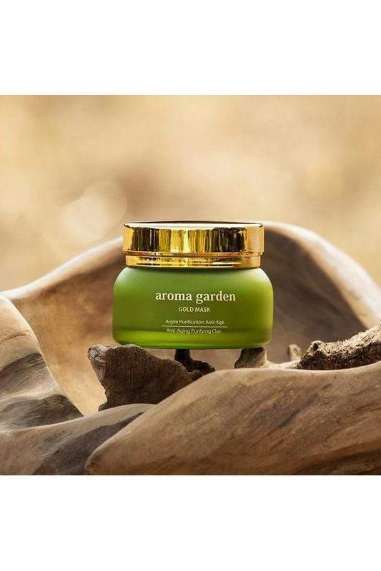 aroma garden cream Gold Mask. sustainable fashion ethical fashion