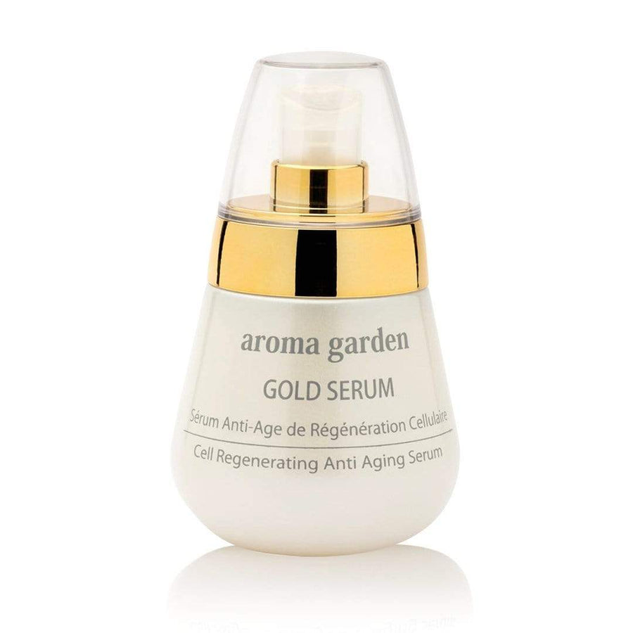 aroma garden cream Organic Anti-Age Gold Serum. sustainable fashion ethical fashion