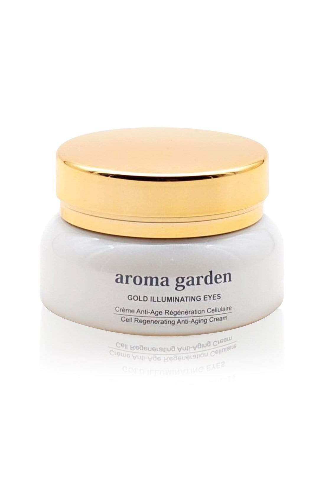 aroma garden cream Organic Anti-Aging Cream for eyes 'Gold Illuminating'. sustainable fashion ethical fashion
