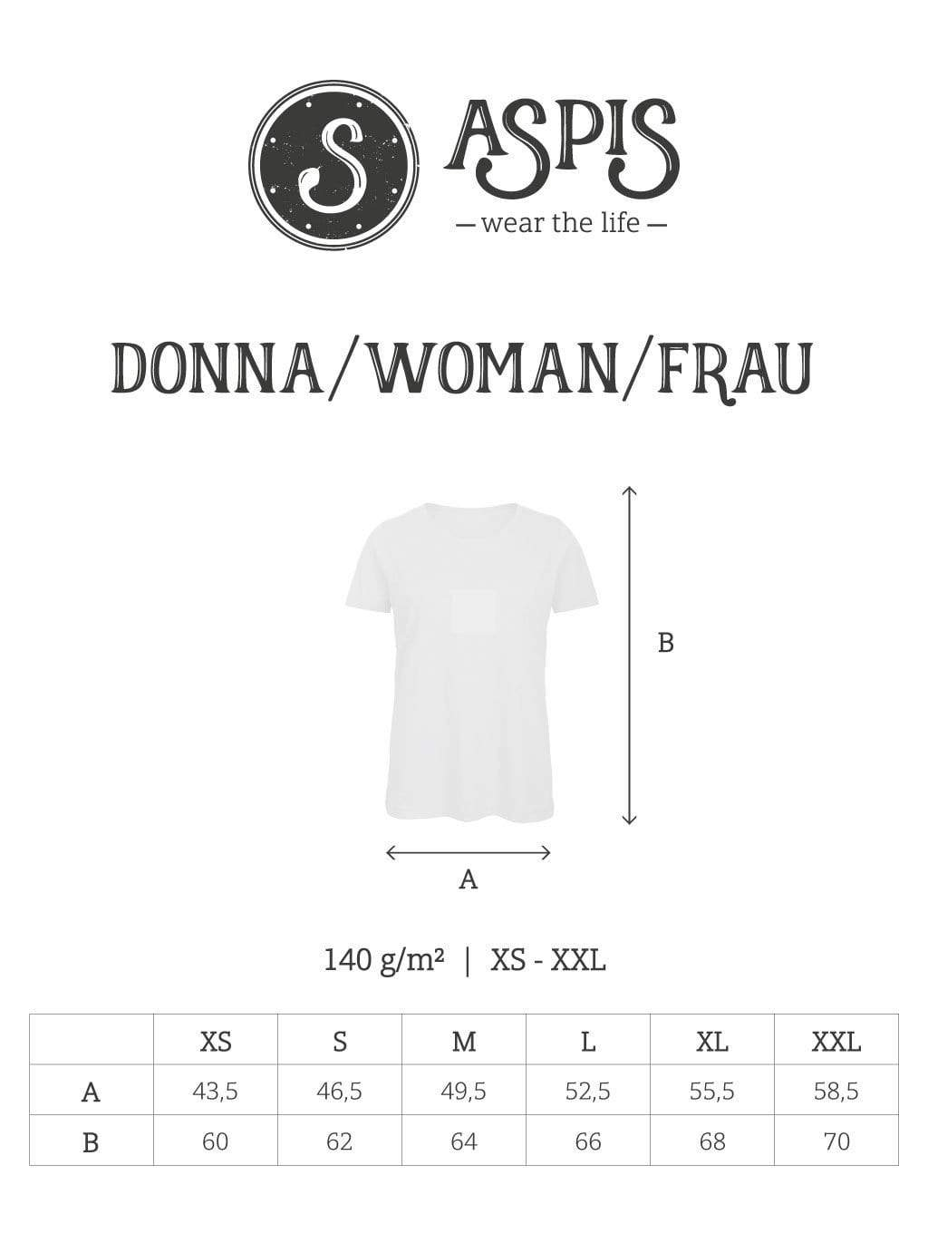 ASPISWEAR Tutti i Prodotti T-shirt KrakenShip Donna sustainable fashion ethical fashion