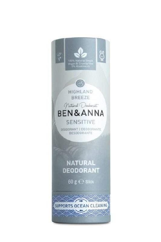 Ben & Anna accessory Highland Breeze Stick Sensitive Deodorant sustainable fashion ethical fashion
