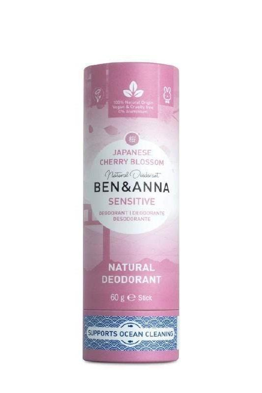 Ben & Anna accessory Japanese Cherry Blossom Stick Sensitive Deodorant sustainable fashion ethical fashion