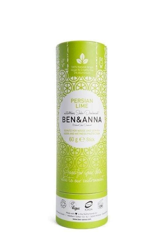 Ben & Anna accessory Persian Lime Stick Deodorant sustainable fashion ethical fashion