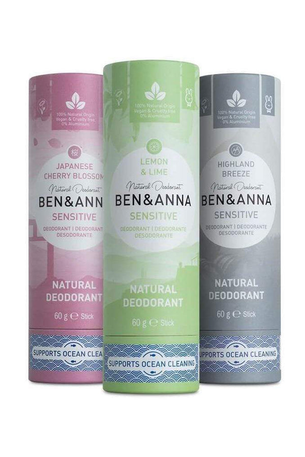Ben & Anna accessory Sensitive Deodorant sustainable fashion ethical fashion
