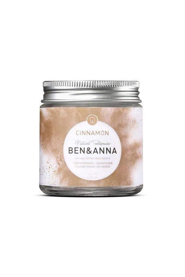 Ben & Anna accessory Toothpowder Cinnamon sustainable fashion ethical fashion