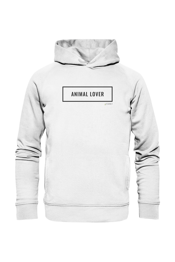 BVeganly Hoodies Organic Sweatshirt Lover - Organic Fashion Hoodie sustainable fashion ethical fashion