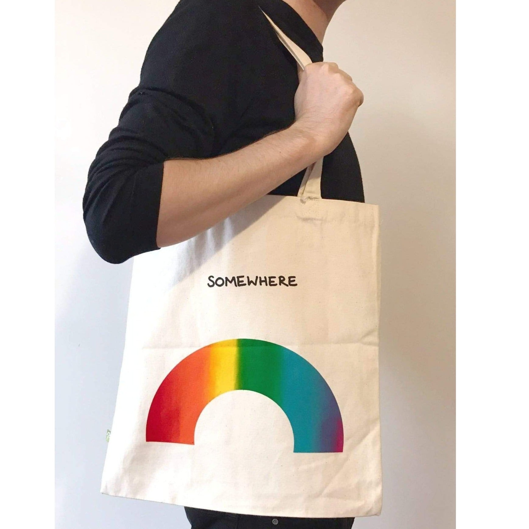 CAL-LUM accessories · accesorios over the rainbow tote bag sustainable fashion ethical fashion