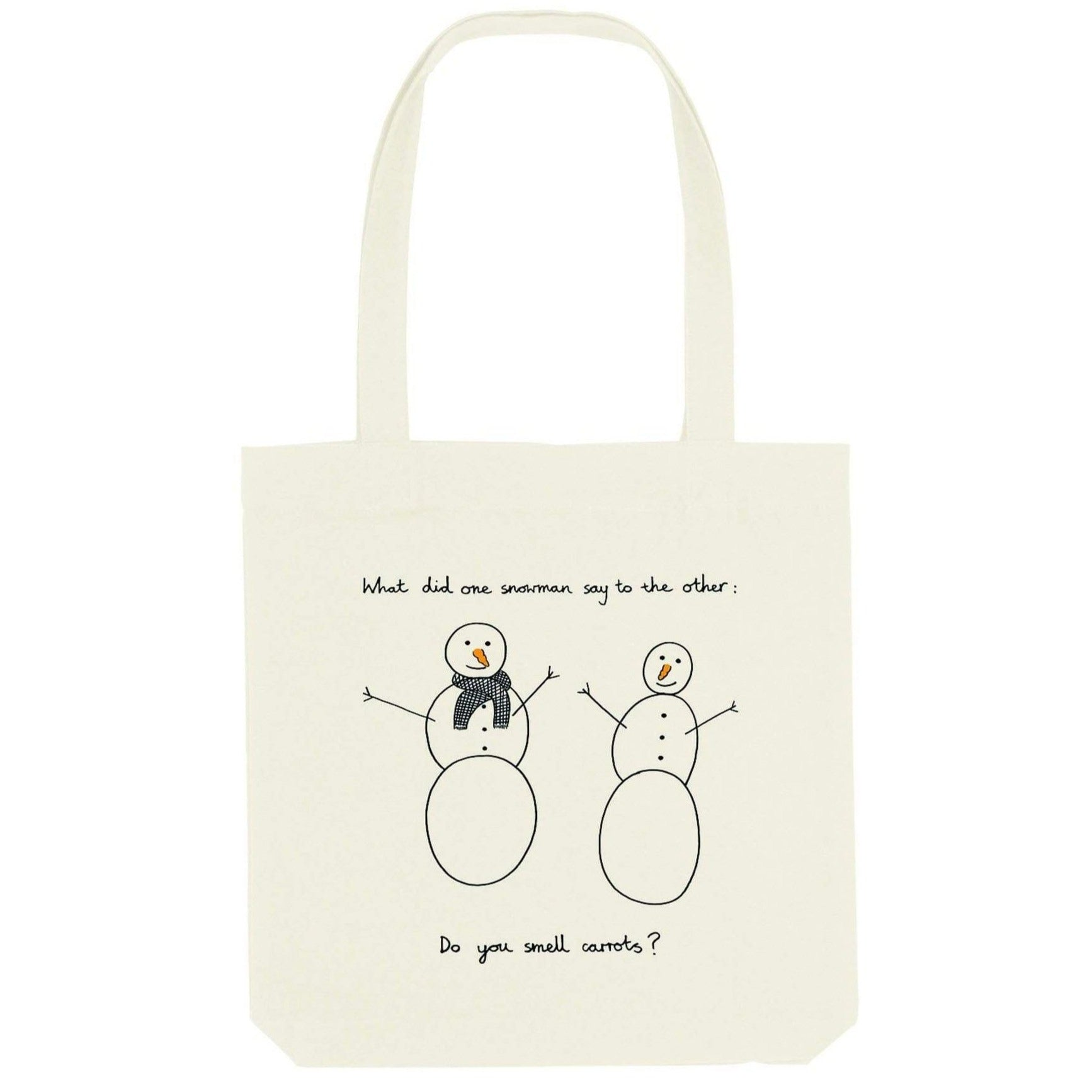 CAL-LUM accessories · accesorios snowmen tote bag sustainable fashion ethical fashion