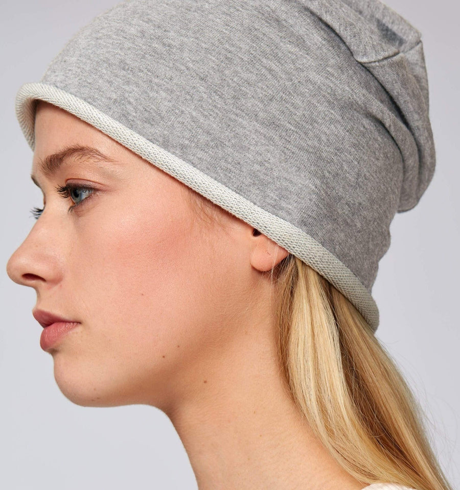 CAL-LUM accessories · accesorios two heads unisex beanie hat sustainable fashion ethical fashion