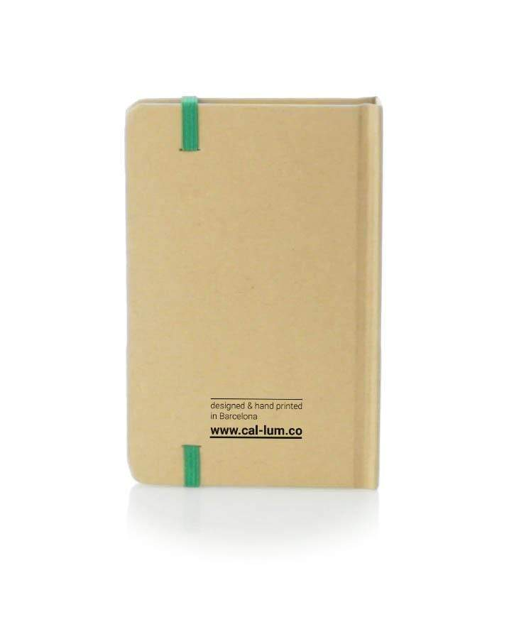CAL-LUM notebooks · libretas save the trees notebook sustainable fashion ethical fashion