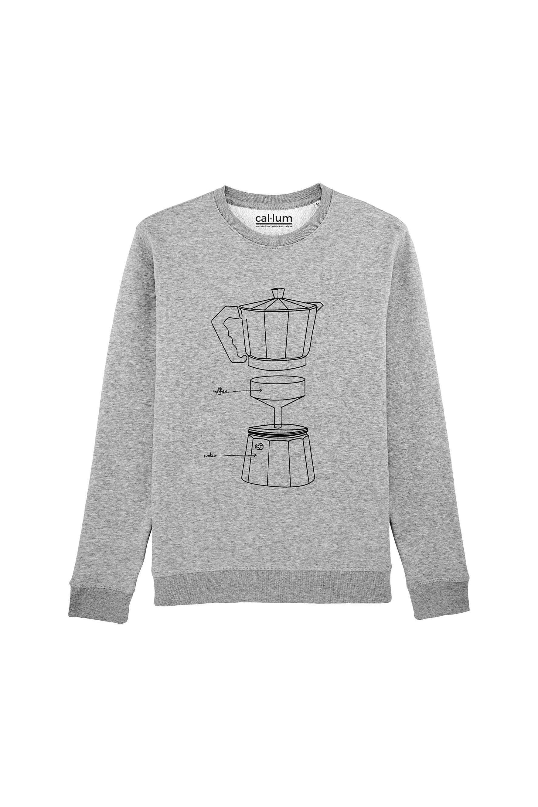 CAL-LUM sweatshirts · sudaderas coffee maker sweatshirt sustainable fashion ethical fashion