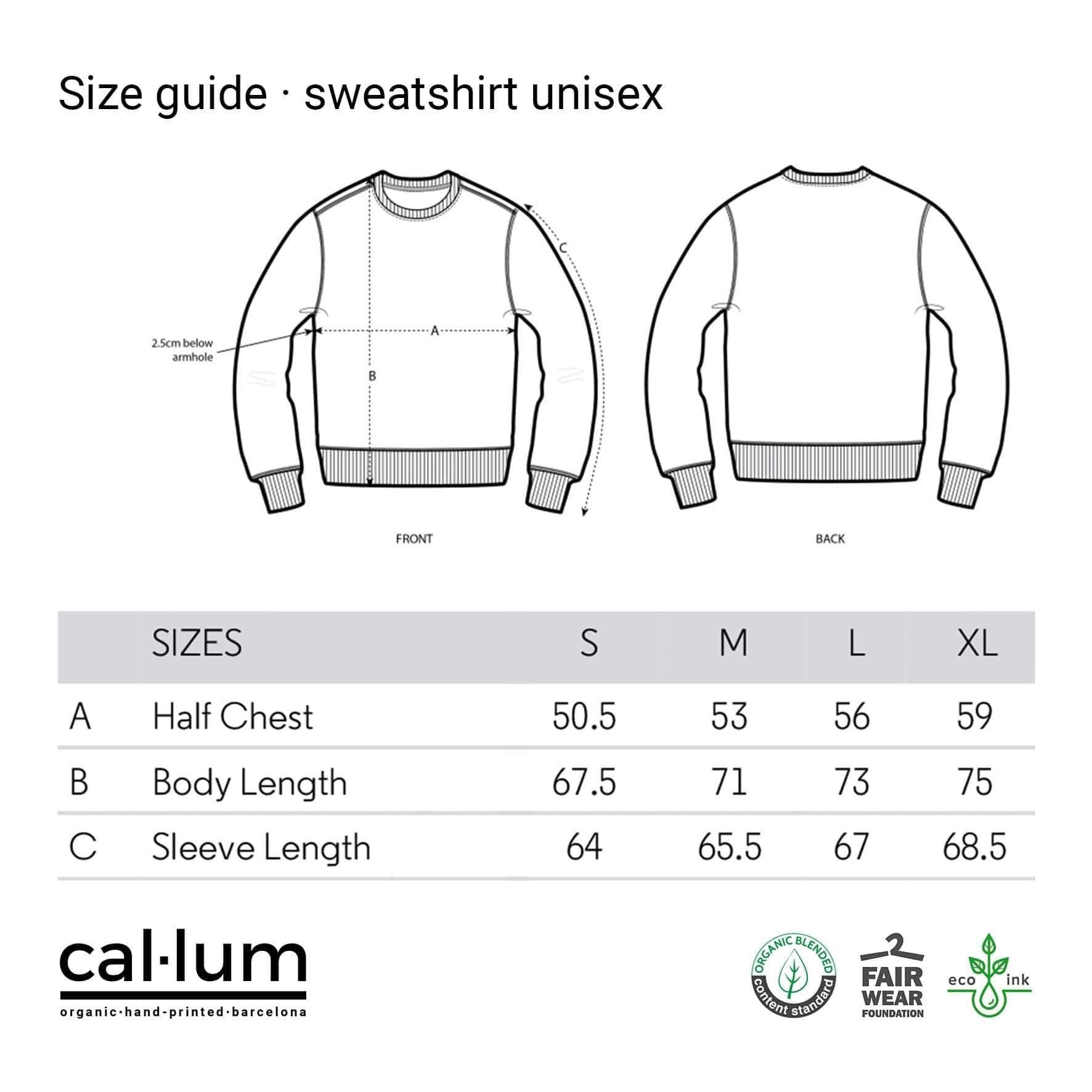 Pulls molletonnés CAL-LUM · Sweat unisexe sudaderas la mejor mode durable mode éthique