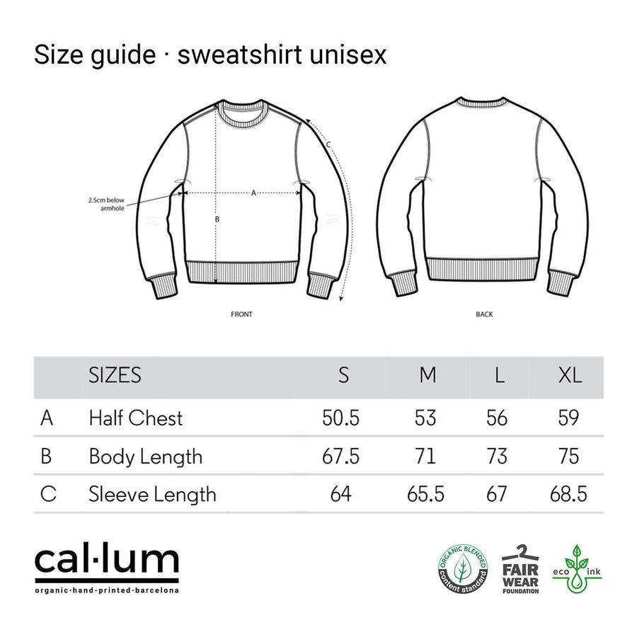 CAL-LUM sweatshirts · sudaderas snowmen unisex sweatshirt sustainable fashion ethical fashion
