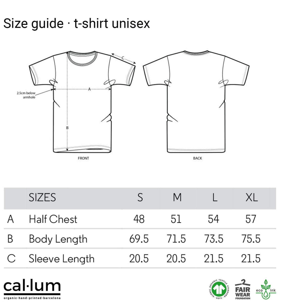 CAL-LUM t-shirts · camisetas hair maze unisex t-shirt sustainable fashion ethical fashion