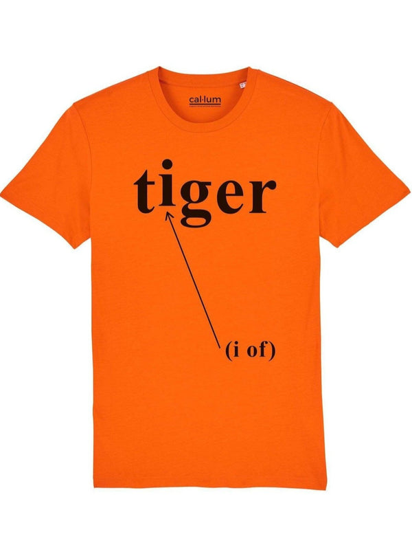 T-Shirt Unisex I of the Tiger in Cotone Biologico.