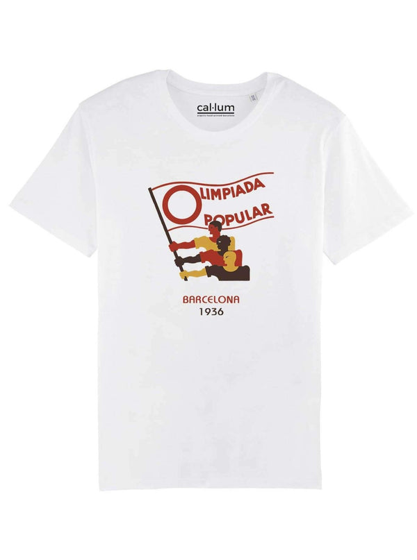 CAL-LUM t-shirts · camisetas olimpiada popular unisex t-shirt sustainable fashion ethical fashion