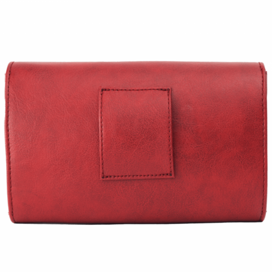 Canussa Bags Hybrid Mini Red - Vegan Purse, Clutch and Bum bag sustainable fashion ethical fashion