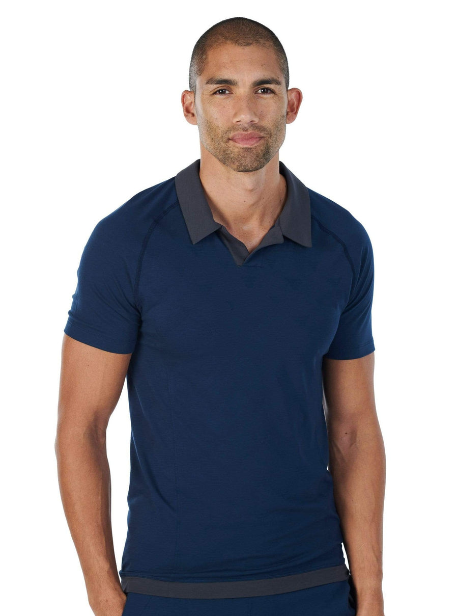 Dagsmejan Polo SLEEP POLO SHIRT MEN —NATTWELL ™ SLEEP TECH nachhaltige Mode ethische Mode