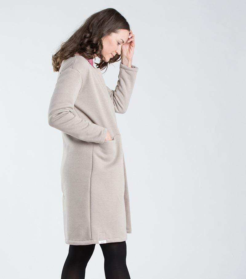 [eyd] coat Jacket Jersai. Organic Cotton. sustainable fashion ethical fashion