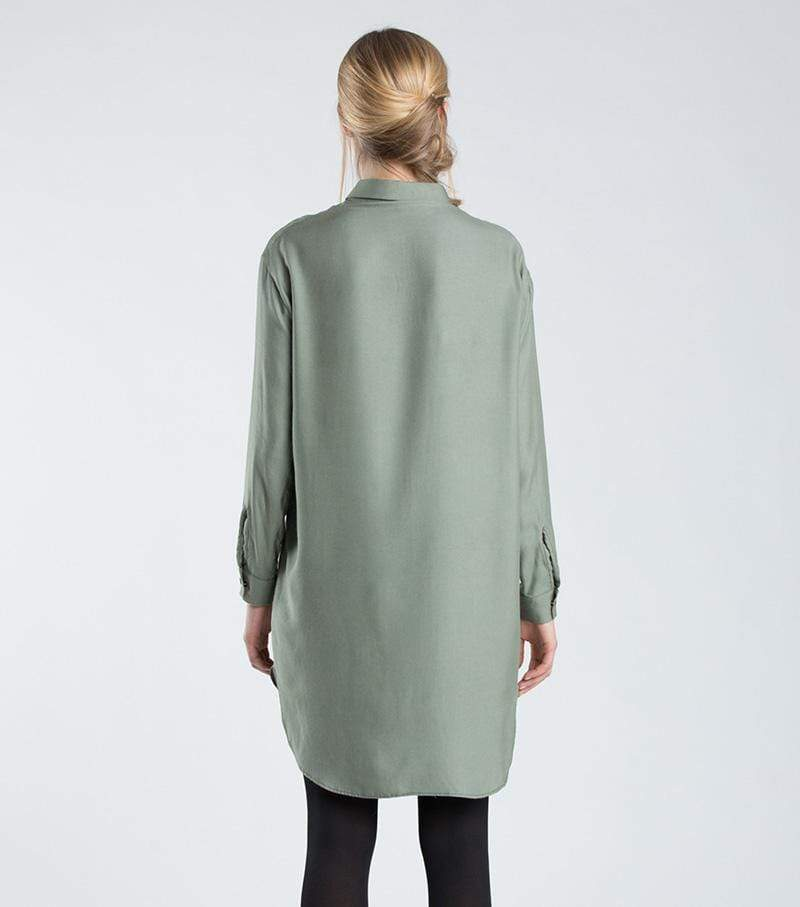 [eyd] dress Sustainable Shirt Dress Lyocell. sustainable fashion ethical fashion