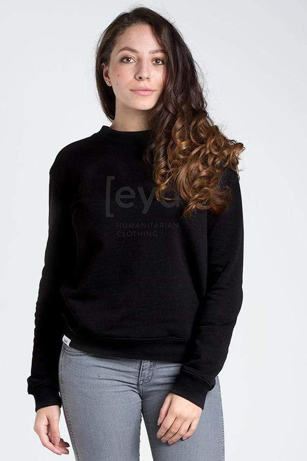 [eyd] sweater M Logo-Sweater in Organic Cotton. sustainable fashion ethical fashion