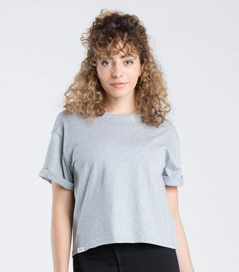 [eyd] top Cropped T-Shirt Vayana in Organic Cotton. sustainable fashion ethical fashion