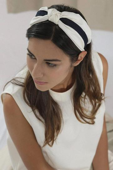 Finet accessory Zero-waste headband in Organic cotton sustainable fashion ethical fashion