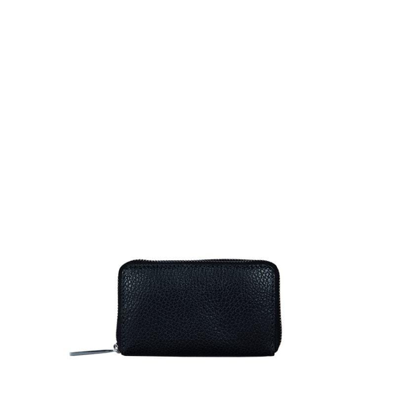 Goodforall bv wallets rambler black Large Wallet in Leather and Recycled PET. sustainable fashion ethical fashion